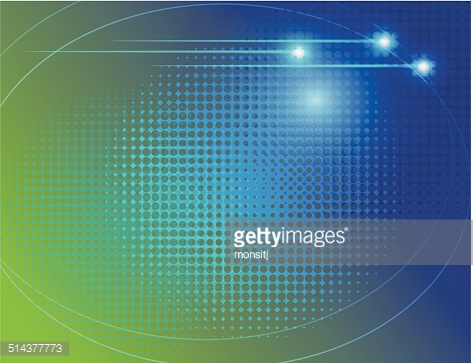 abstract  technology halftone dot  curve vector background