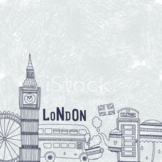 Vector London background
