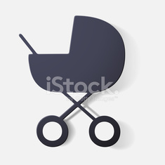 Paper clipped sticker: buggy