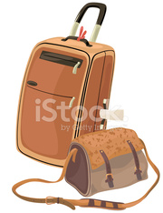 Suitcase and Bag