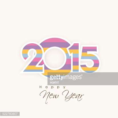 Poster, banner or card for New Year.