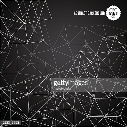 Vector abstract DNA mesh background