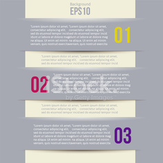Modern Design style infographic template layout