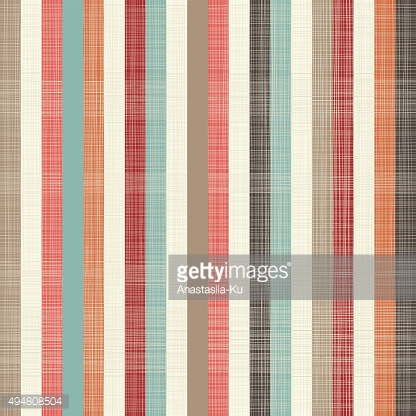 seamless textile quilt pattern with vertical colorful lines