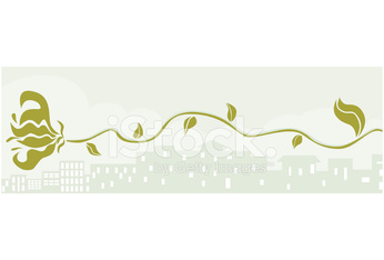 City and vine banner