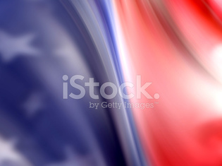 USA Abstract Flag Background