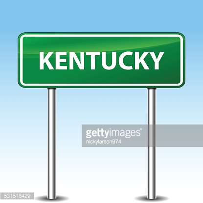 kentucky green sign