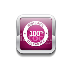 Best Price Pink Vector Icon Button