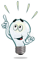 Light Bulb With A Bright Idea!