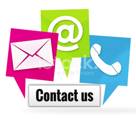 Contact Us Icons Signs
