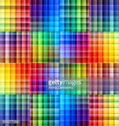 Abstract blurred background with strips. Rainbow gradient