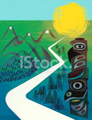 Wilderness Road and Totem Pole