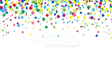 colorful confetti for you design