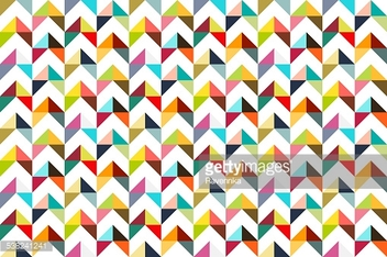 Seamles colorful triangle pattern