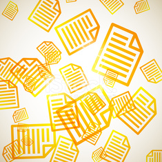 abstract background: paper