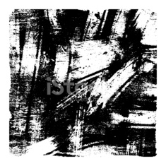 Black and white vector grunge texture