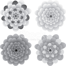 Flower decoration elements