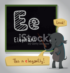 Alphabet Animals, Elephant