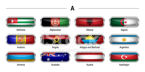 """Flags icon - """"A"""""""