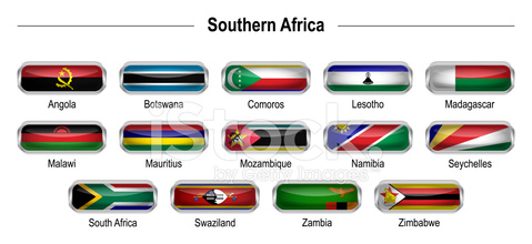 Flags - Southern Africa