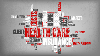 Word Cloud - Health Care Issues - Texture