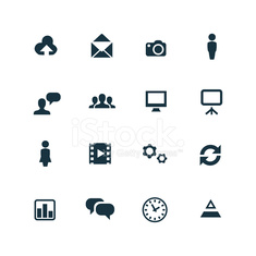 development, soft icons set