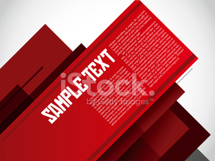 Abstract promotional banner