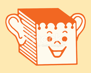 Smiling Box With Ears and Face