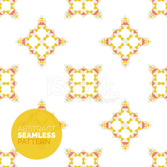 Vector colorful seamless geometric pattern. Modern stylish abstract texture