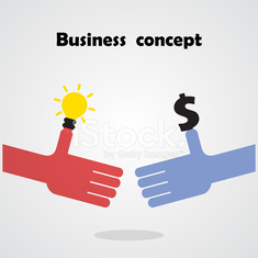 Business handshake concept and business people.