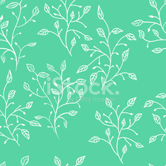 seamless background with foliage