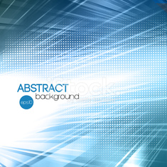 Abstract blue shiny template background