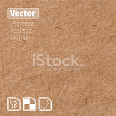Vector seamless brown rice paper photo texture.