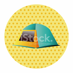 camping tent theme elements