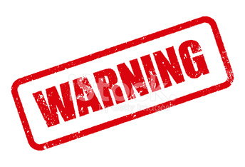 warning rubber stamp ink imprint icon transparent background stock