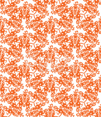 Retro decorative vector seamless pattern. Endless texture can be used