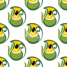 Colorful olive oil seamless pattern