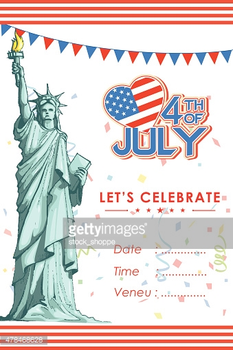 Fourth of July American Independence Day