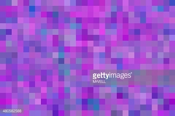purple and blue pixel