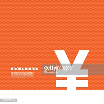 Yen sign icon. JPY currency symbol