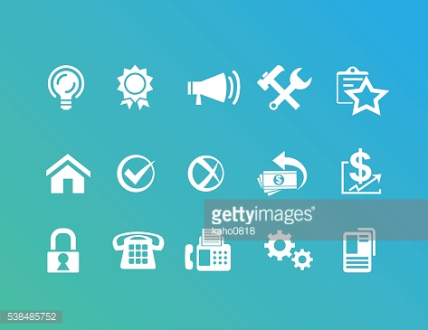 Office and Operation Icons