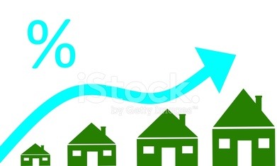mortgage interest rates concept