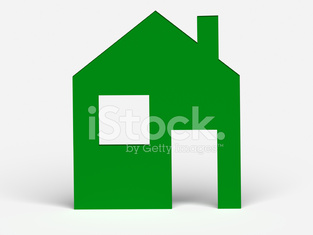 Illustration of house. Real estate concepts
