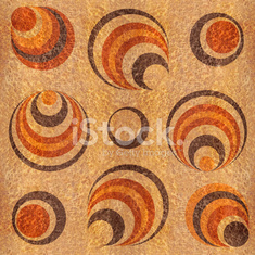 Abstract decorative pattern - seamless background - wood texture