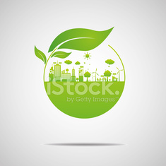 Ecology concept. save world