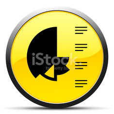 Coxcomb Chart icon on a round button.