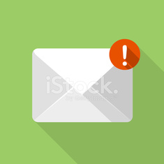 Vector new email icon