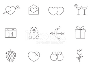 Outline Icons - Love