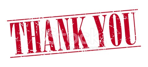 thank you red grunge vintage stamp isolated on white background