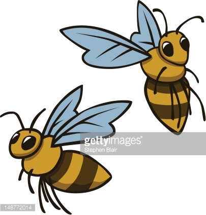 Cartoon Bumble Bees